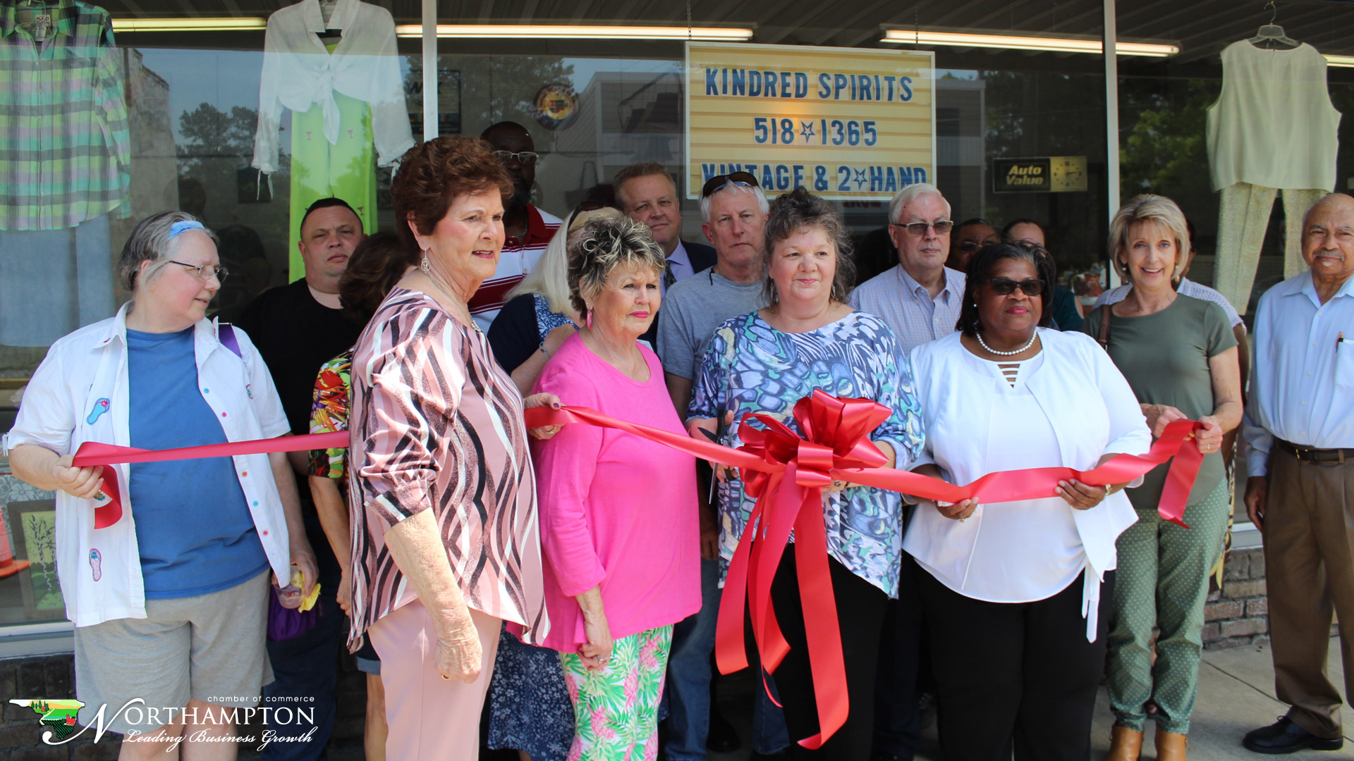 Kindred Sprits Rich Square, NC Ribbon Cutting May 17, 2019